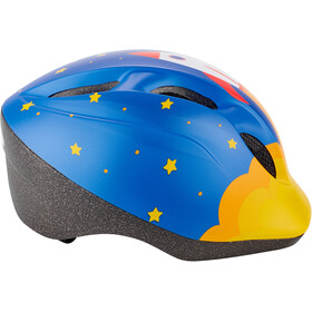 MET Superbuddy Casque Enfant, blue rocket